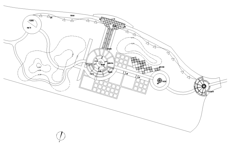 [北京]翠海明珠居住区全套景观设计CAD施工图