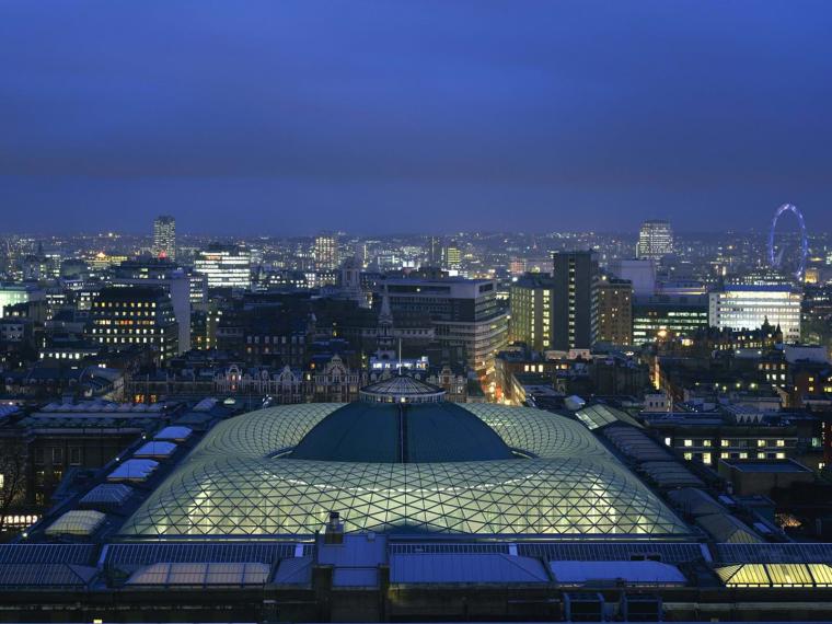 英国博物馆的大法院