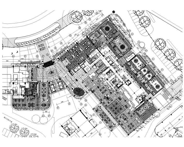 [贵州]ABConcept-贵阳新世界酒店装修施工图+效果图+物料表+官方摄影+考察实景