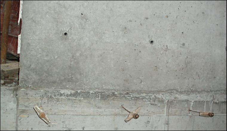 77外墙加固--预埋老墙螺杆