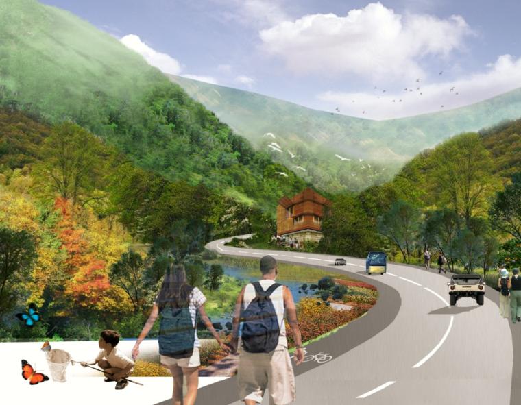 [湖北]武当山太极湖生态文化旅游区景观方案文本(共88页)