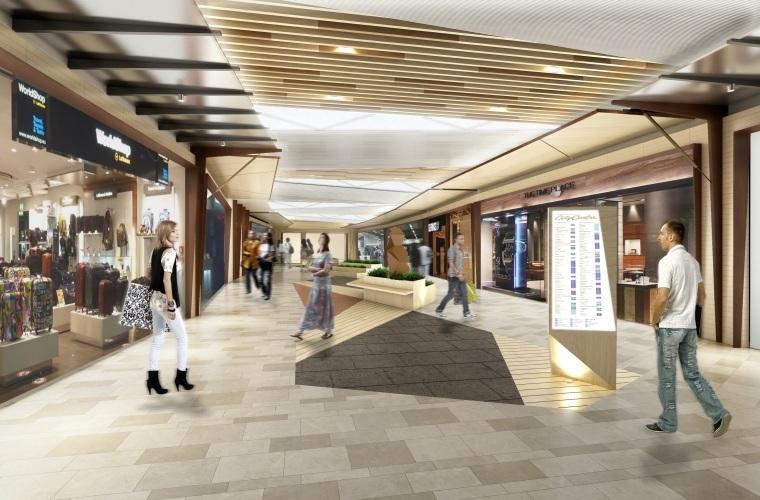 [上海]伍兹贝格-虹桥中央商务区商业项目100%室内设计深化设计+效果图丨PDF+JPG