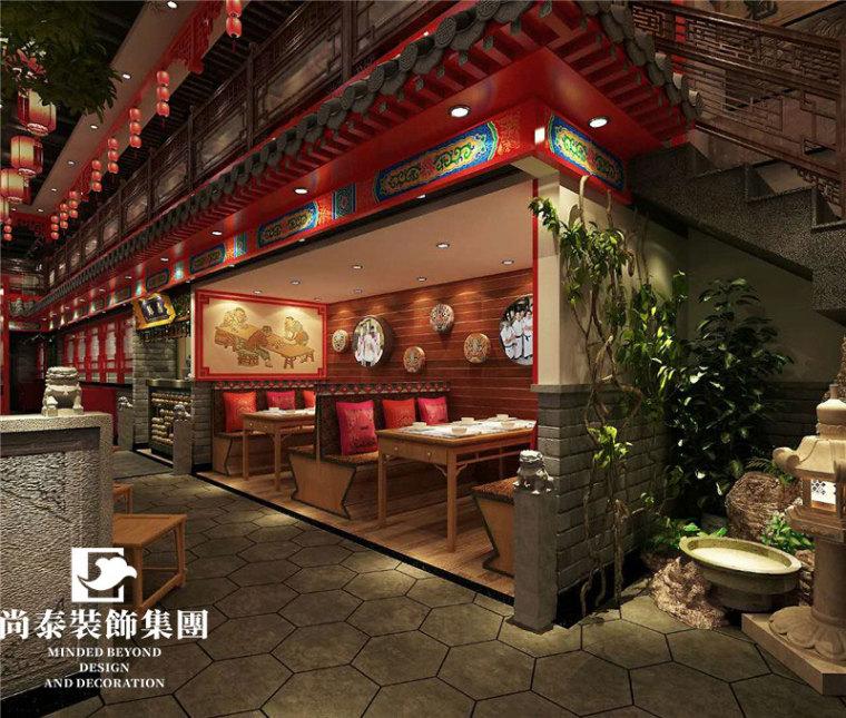 中式风格餐饮装修的特点