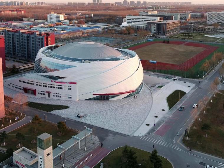 北京建筑大学大兴校区体育馆