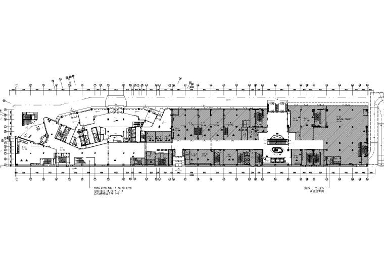 [北京]三里屯通盈中心-商业建筑一层_二层室内装饰施工图