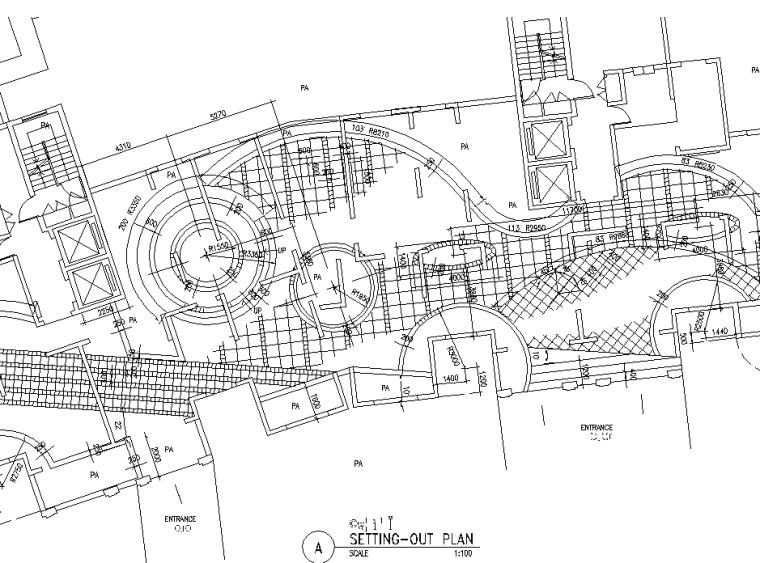 [上海]华丽家族·古北花园居住区全套景观CAD施工图