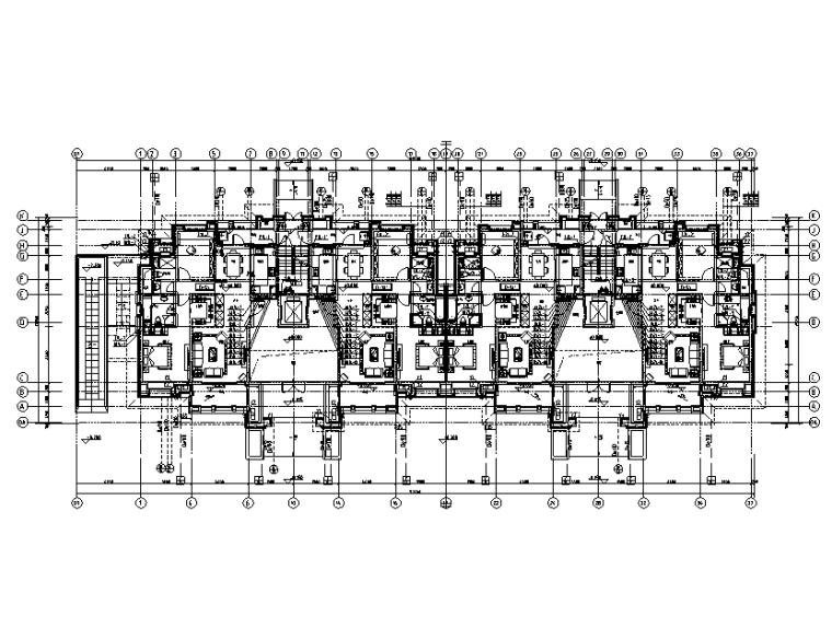 江苏十一层住宅楼给排水设计施工图