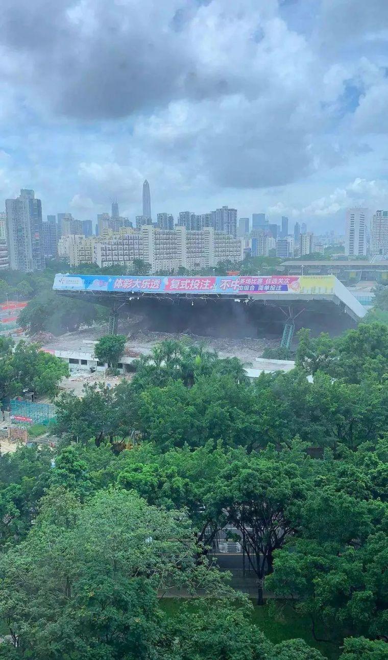拆除中的深圳市体育中心坍塌,多人被埋!拆除工程监理怎么做?