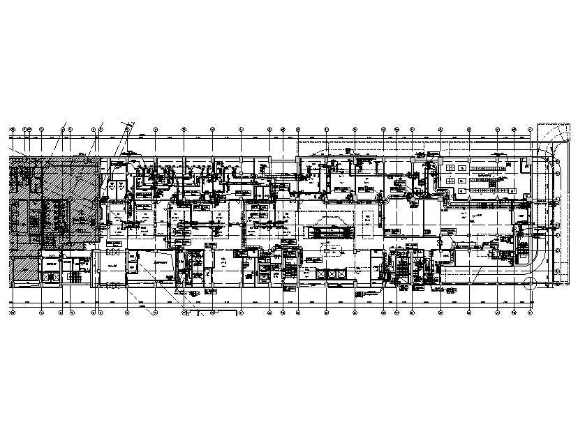 北京三里屯商業綜合體全套暖通設計施工圖