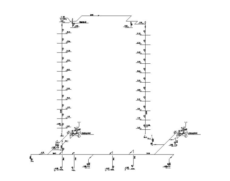 消火栓系统图