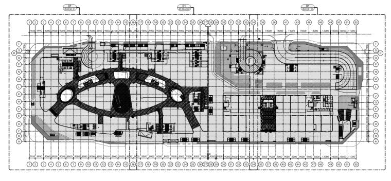[北京]Benoy-合生汇购物中心效果图+施工图