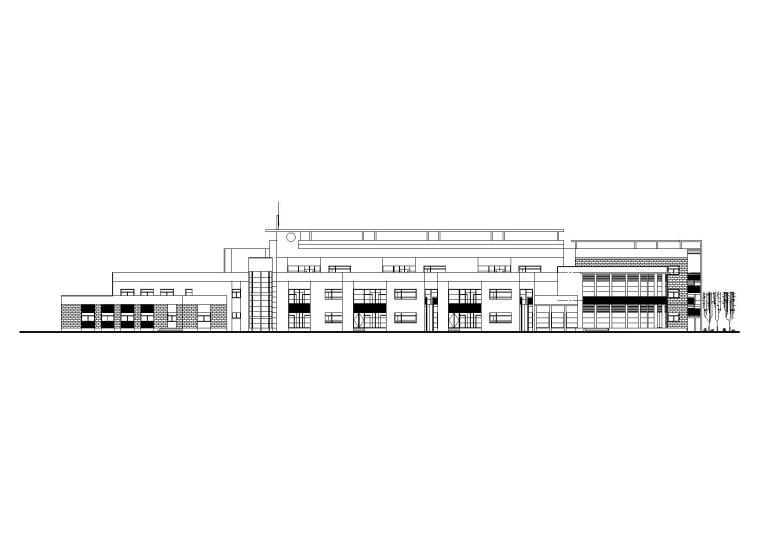 [上海]13班幼儿园建筑施工图(CAD)