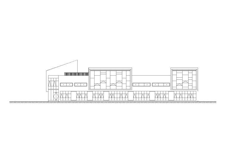 [四川]8班幼儿园建筑施工图(CAD)