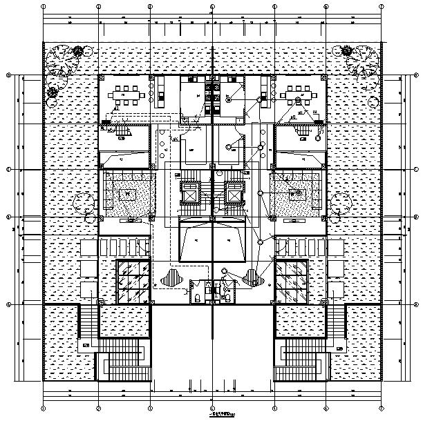 云南高档别墅区及配套建筑电气施工图