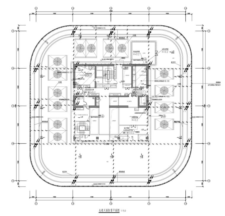 广州超高层办公双子塔及配套大型商业机电设备施工图