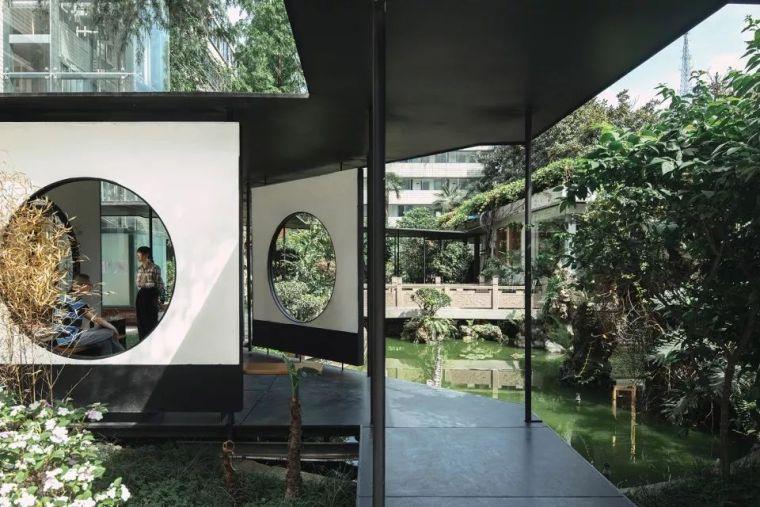 曲折尽致-侠客岛花园岛庭院更新,成都/門口建筑工作室