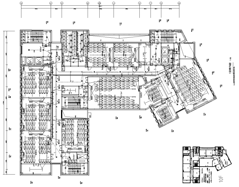 重庆工商大学新建教学楼全套施工图