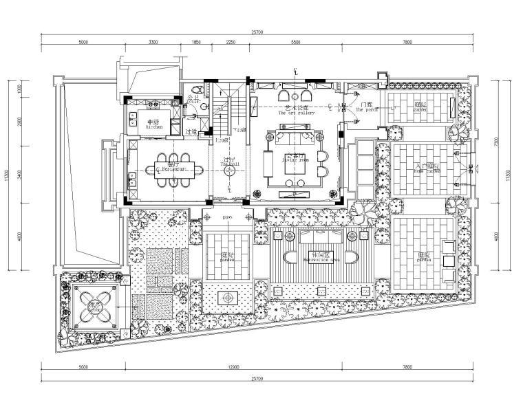 [广东]刘卫军-金茂·佛山绿岛湖项目示范区别墅样板房丨施工图+效果图+官方摄影