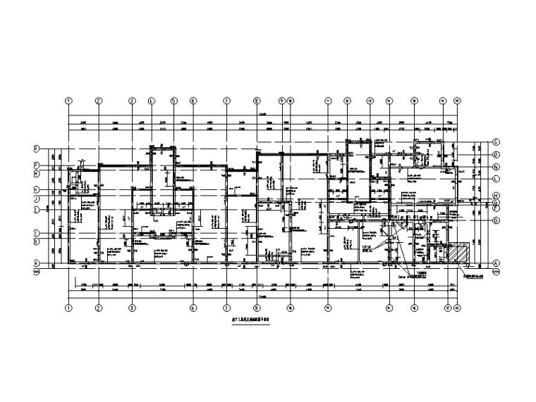 22层剪力墙住宅楼+商业楼建筑结构施工图(2017)