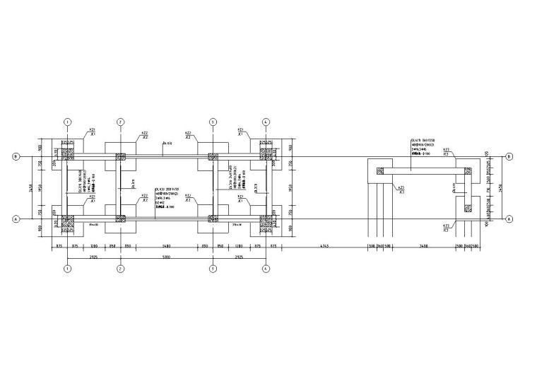 [北京]北京秦禾院子全套施工图设计(结构|CAD)