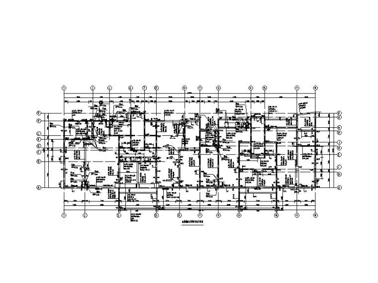 23层剪力墙住宅+商业楼建筑结构施工图(含框架裙房,2017)