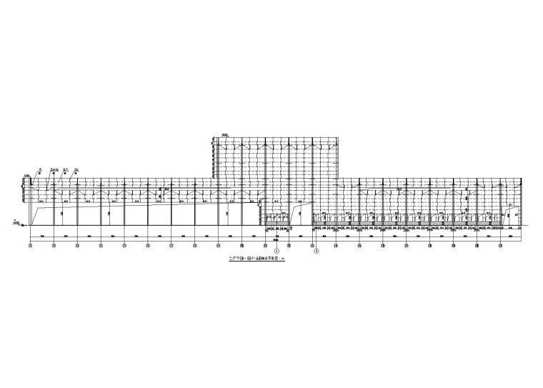 28mPC门式刚架厂房建筑结构施工图(2017)