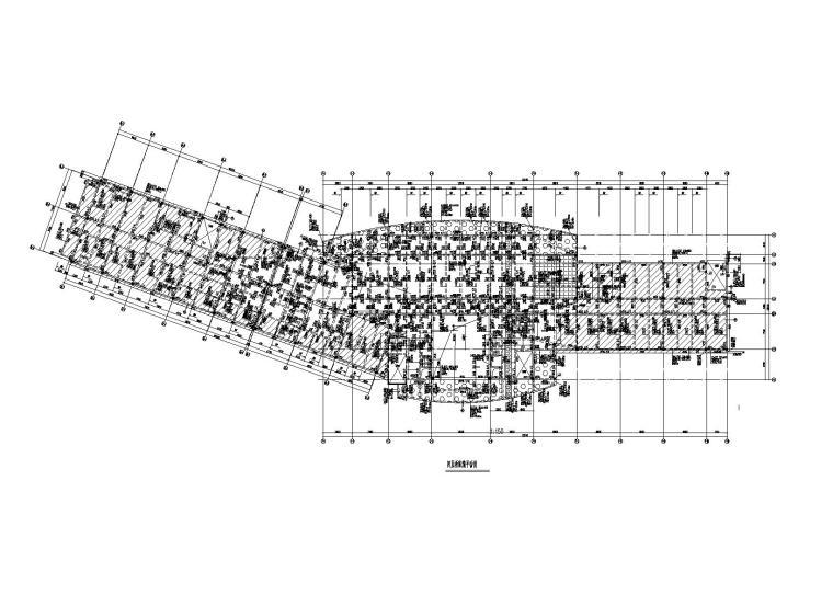 [海南]4层钢混框架结构办公楼全套施工图(建筑结构水暖电)