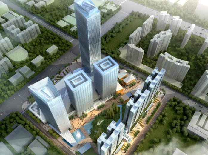 [广东]佛山禅城商业综合体项目概念方案设计文本