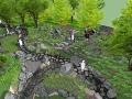 100套常见景观设计SU模型_公园、商业、广场