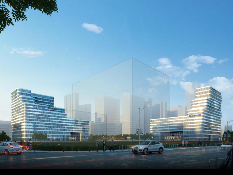 [成都]框架剪力墙结构腾讯大厦项目绿色施工汇报材料PPT(90页)