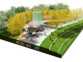 [上海]南站绿轴项目景观方案设计(露天广场,滑板广场,茶社等)附:CAD图纸,SU模型