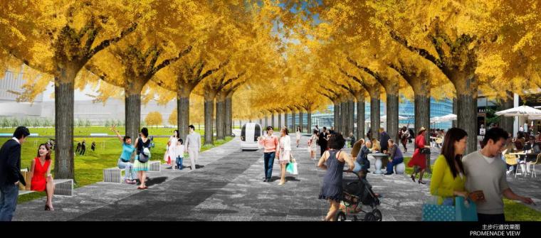 [上海]南站绿轴项目景观方案设计(露天广场,滑板广场,茶社等)附:CAD图纸,SU模型_2