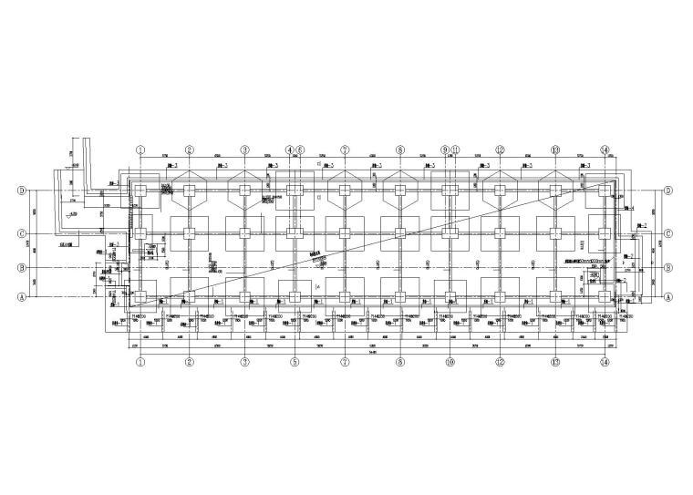 [滄瀾]11層剪力墻結構保障房隔震設計施工圖(2016)