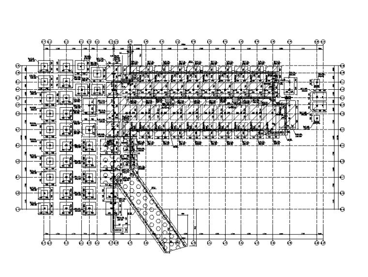 [海南]6层钢混框架结构教工宿舍全套施工图(建筑结构水暖电)