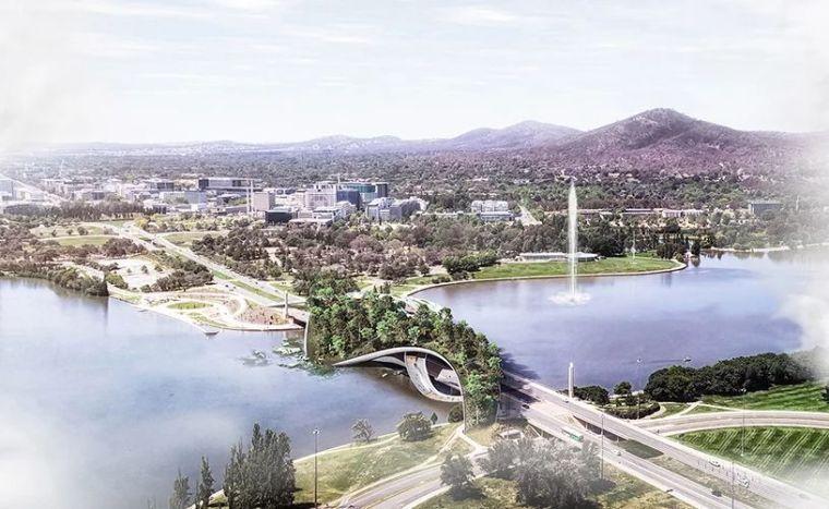 花园城市的新榜样——生态景观桥+线性公园!!
