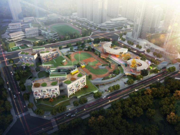 小学+幼儿园方案模型设计(2018年)