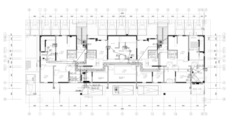 地下动力平面图