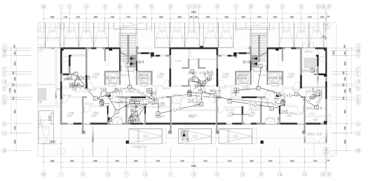 地下消防平面图