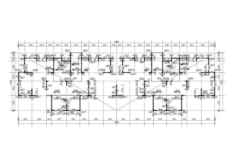 [济南]15层剪力墙结构住宅楼结构施工图(条基+防水底板)