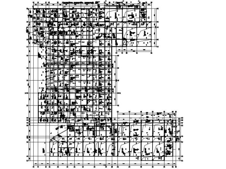 [海南]四层钢混框架教学楼全套施工图(建筑结构水暖电)