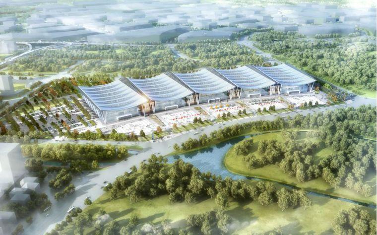 赣州绿地国际会展中心结构初探