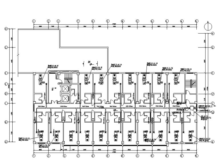 西安张氏酒店空调设计图
