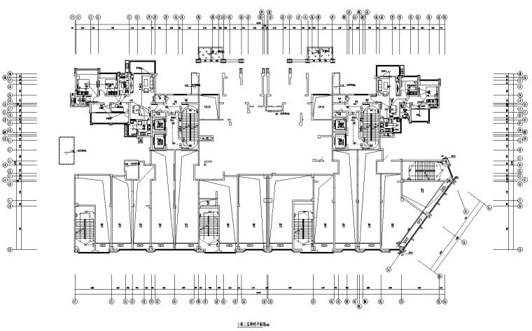 四川雅安商业住宅项目及配套底商全套施工图