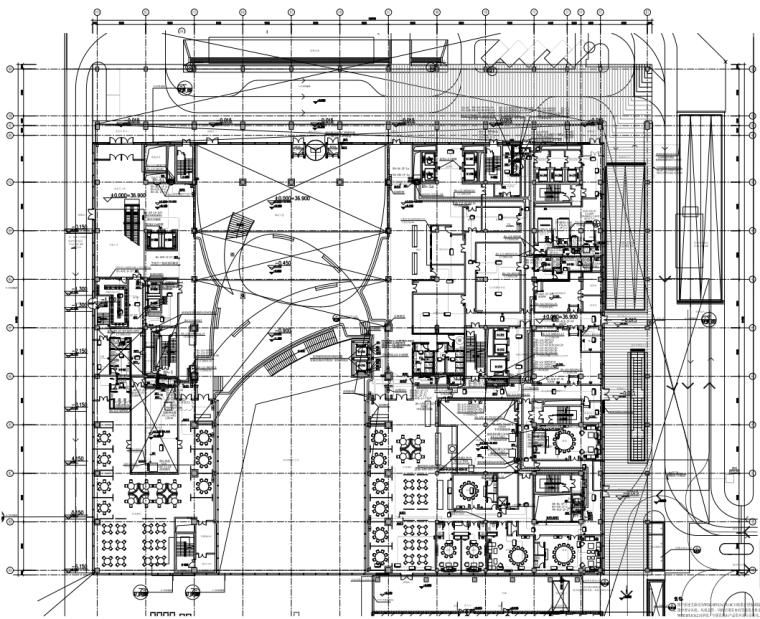 北京望京高层办公楼及酒店机电设备施工图