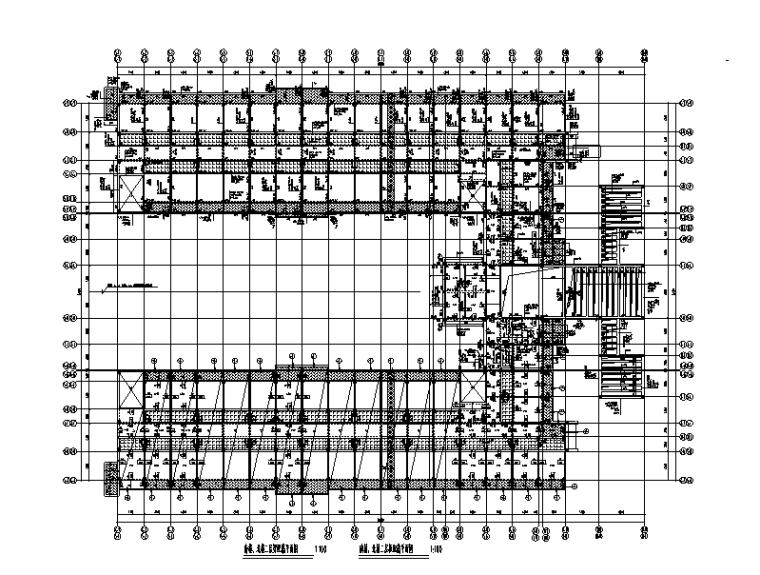 [海南]6层钢混框架结构学生宿舍全套施工图(建筑结构水暖电)