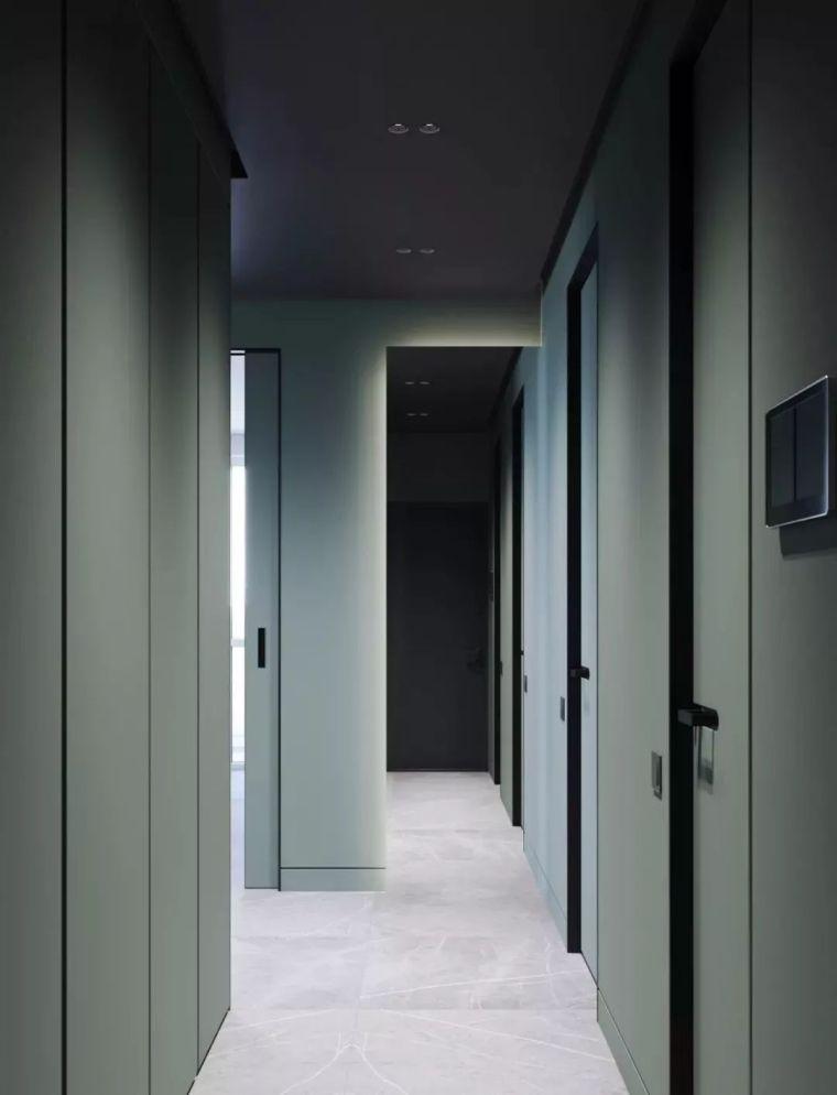 45㎡水鸭绿公寓,色彩造就小户型美!