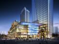 [吉林]沈阳城开东方国际广场建筑模型设计(三益设计)