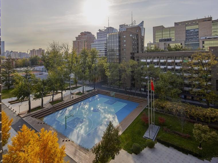 北京北大附中本校及朝阳未来学校景观