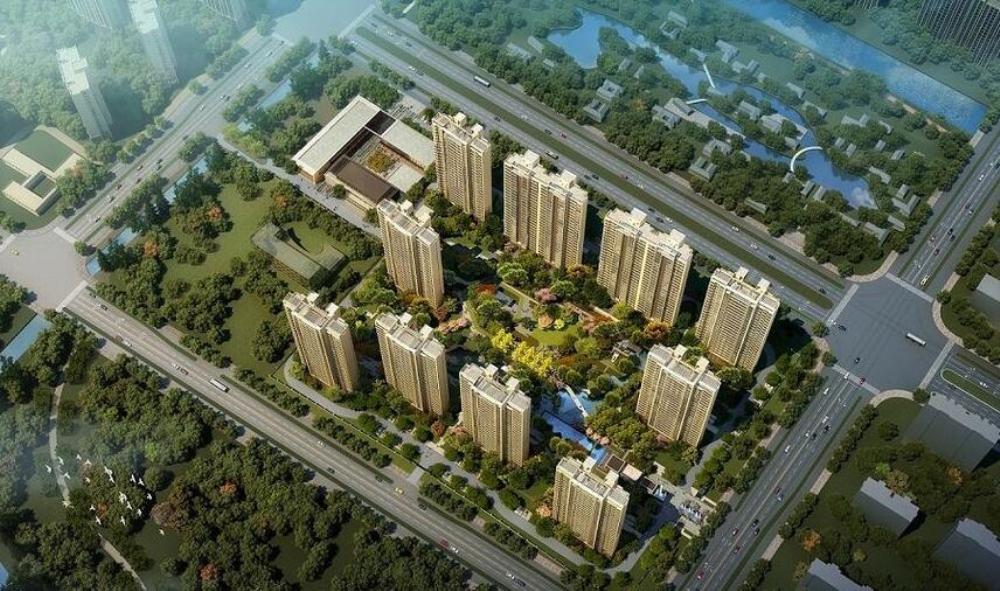[江苏]南通海门·仁恒·公园四?新亚洲风格高层居住区模型设计