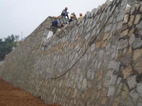 隧道连接线辅道挡土墙施工方案